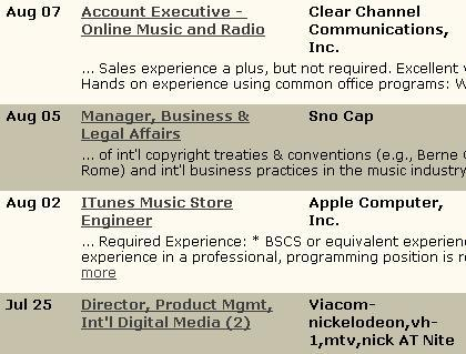 the digital audio insider job board